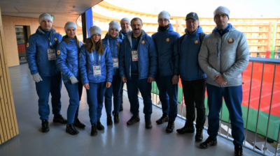 Viktor Lukashenko meets with Belarusian athletes at Lausanne 2020