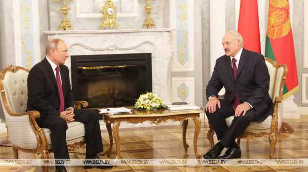 Lukashenko, Putin discuss bilateral agenda, pandemic, election in phone call