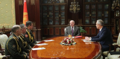 Lukashenko appoints new defense minister, Chief of General Staff